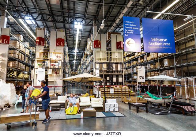 Ikea Store Warehouse Stock Photos Ikea Store Warehouse Stock Images Alamy