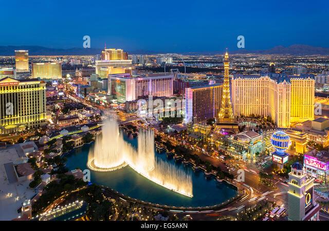 Skyline las Vegas - Stock Image