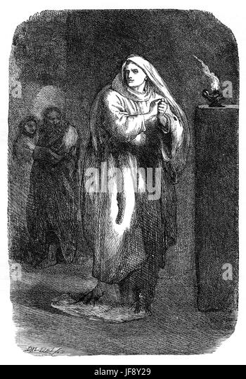 a review of act v scene 8 in the play macbeth by william shakespeare Act 5, scene 8 macduff enters alone and shouts a challenge to macbeth, swearing to avenge the death of his wife and children  as the play nears its bloody.