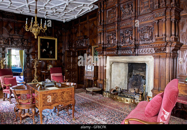 English Stately Home Interior Stock Photos amp English  : the interior of levens hall south lakeland cumbria england uk gf8cfk from www.alamy.com size 640 x 447 jpeg 100kB
