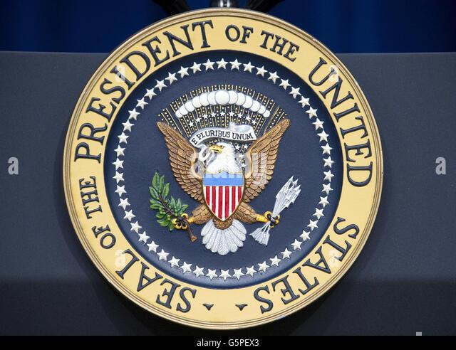 presidential seal podium stock photos amp presidential seal