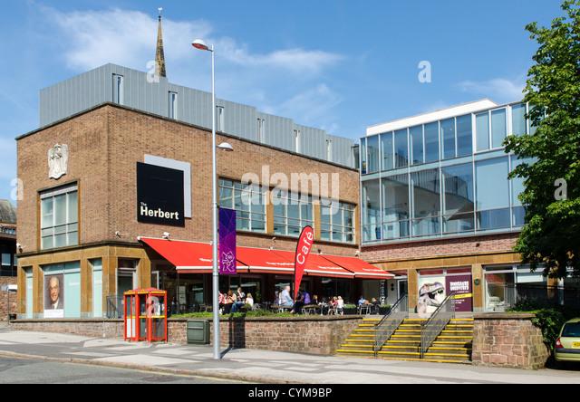 The Herbert Art Gallery and Museum in Jordan Well, Coventry, Warwickshire - Stock Image