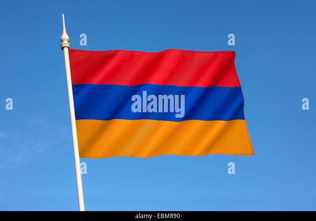 Armenia Flag Rgb