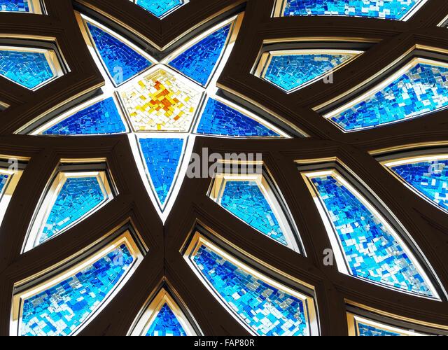 Sheikh Zayed Mosque, Abu Dhabi, United Arab Emirates - Stock-Bilder