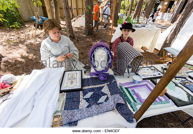 Knitting And Sewing Show Ingliston : Old Women Knitting Stock Photos & Old Women Knitting Stock Images - Alamy
