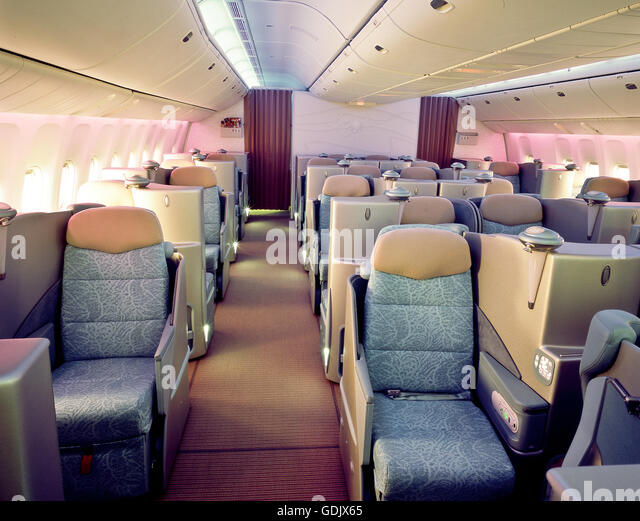 Airline Cabin Stock Photos Airline Cabin Stock Images