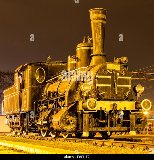 Steam train - Stock Image