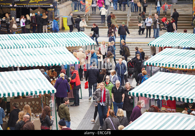 Salford Quays for the Lowry Outlet Food Festival.    UK Great Britain British United Kingdom Europe European island - Stock Image