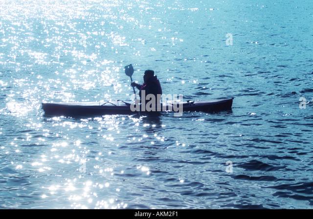 canoe - Stock Image