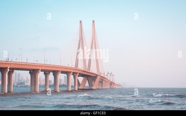 SEA LINK, MUMBAI - Stock Image