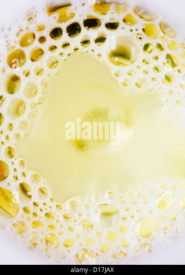 Close up of melted butter - Stock Image
