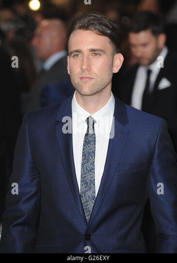 London, UK. 25th May, 2016. Mathew Lewis attends the European Premiere of 'Me Before You' at Curzon Mayfair. - Stock Image