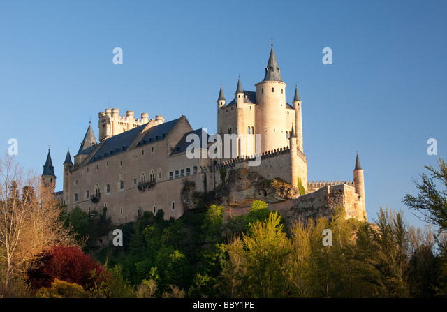 Segovia Castle, Segovia, Spain - Stock Image