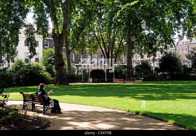 Open Garden Squares London Stock Photos Amp Open Garden