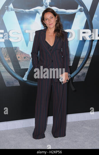 Hollywood, CA, USA. 28th Sep, 2016. 28 September 2016 - Hollywood, California. Sidse Babett Knudsen. Los Angeles - Stock-Bilder