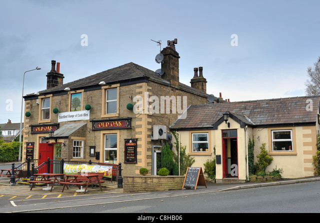 The Old Oak, Longridge - Stock Image