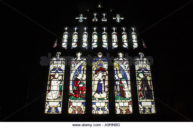 Daresbury Church Stained Glass Window