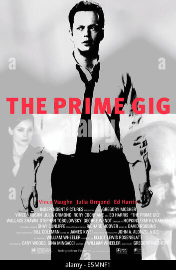 THE PRIME GIG, from left: Julia Ormond, Vince Vaughn, Ed Harris, 2000, © Fine Line Features/courtesy Everett - Stock Image