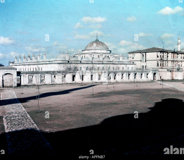 Indian Empire circa 1935 Front elevation of Building www osheaphotography com - Stock Image