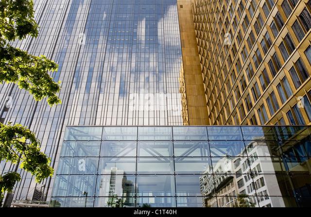 Germany, Berlin, Axel Springer publishing house - Stock Image