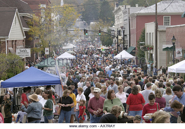 West Virginia Lewisburg Taste of Our Towns - Stock Image
