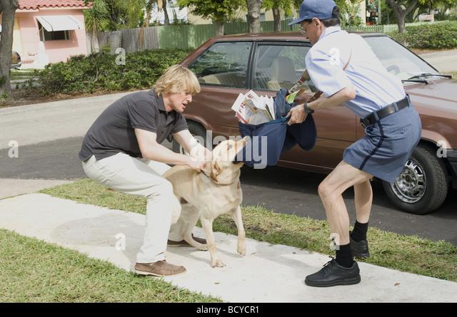Marley and me Year : 2008 Director : David Frankel Owen Wilson, - Stock Image