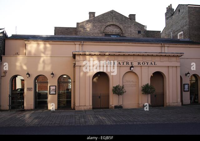 The Theatre Royal, in Bury St Edmunds, Suffolk., - Stock Image