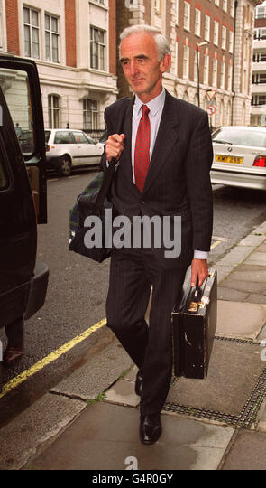 Doctor John Anderton, formerly a consultant at Edinburgh's Western General Hospital, leaves the General Medical - Stock Image