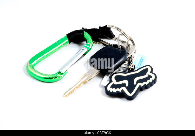 Teenagers house and car keys. - Stock Image