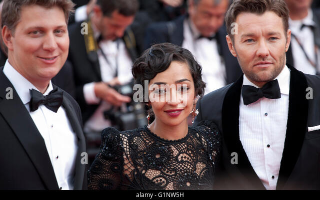 Cannes, France. 16th May, 2016. Jeff Nichols, Ruth Negga, Joel Edgerton at the gala screening for the film Loving - Stock Image