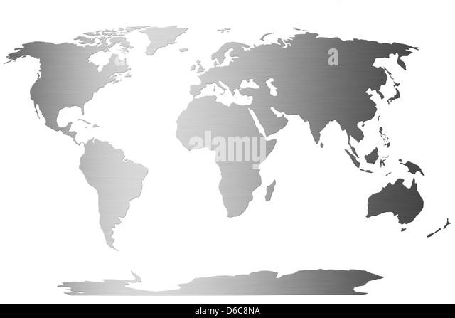 world,world map - Stock Image