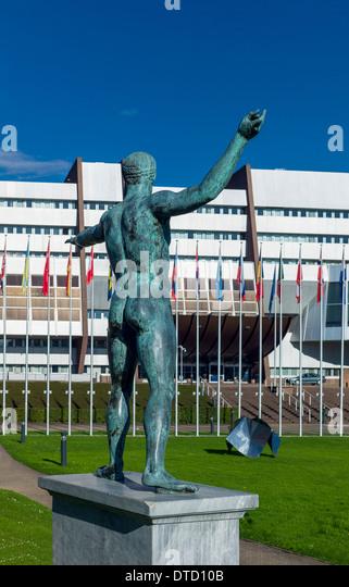 Zeus statue athens museum stock photos zeus statue athens museum stock images alamy - Poseidon statue greece ...