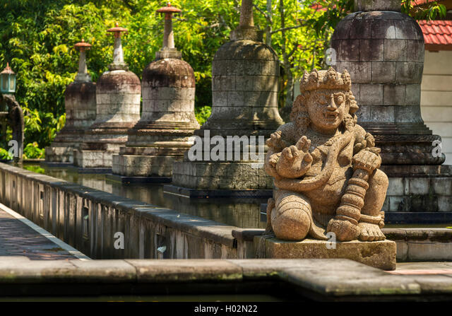 Mendut Temple is a Buddhist temple in Yogyakarta, Java, Indonesia. - Stock Image