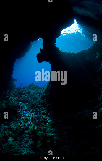 Boo Windows on Boo Island, Raja Ampat, West Papua, Indonesia, Pacific Ocean - Stock Image