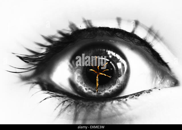 Sparkle in my eyes - Stock Image