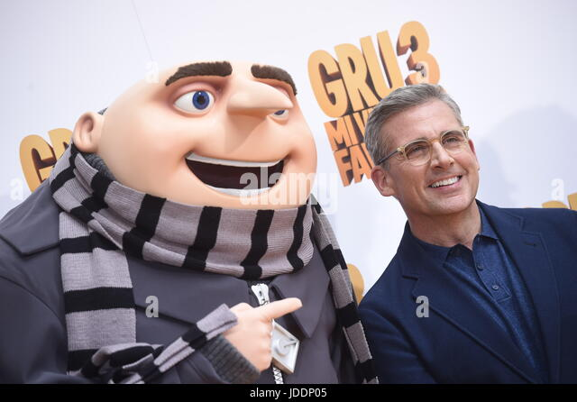 Madrid, Spain. 20th June, 2017. Actor Steve Carrell during photocall ''Gru3-Mi Villano Favorito'' - Stock-Bilder