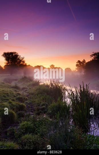 Avon September Dawn - Stock Image