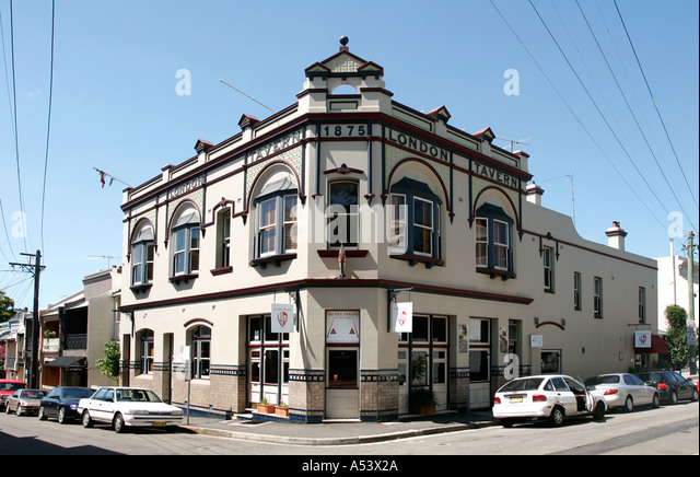 oldest pub in australia stock photos oldest pub in. Black Bedroom Furniture Sets. Home Design Ideas