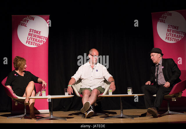 Suzanne Moore, Martin Rowson and - Stock Image