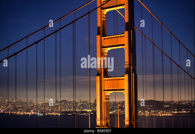 The Golden Gate Bridge - Stock Image