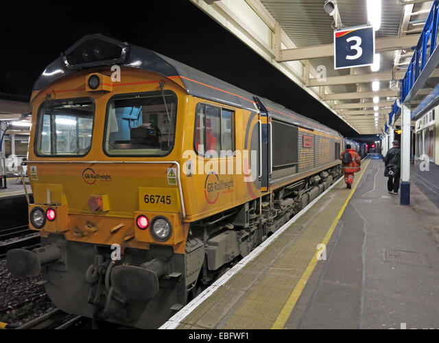 Clapham Junction Railway station at Night,London Overground - Stock Image