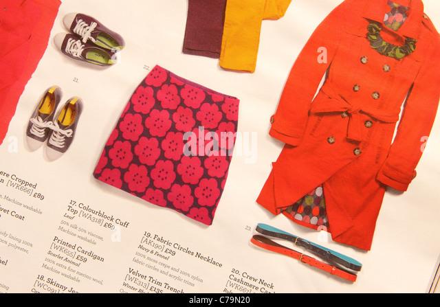 Catalogue fashion stock photos catalogue fashion stock for Boden fashion deutschland