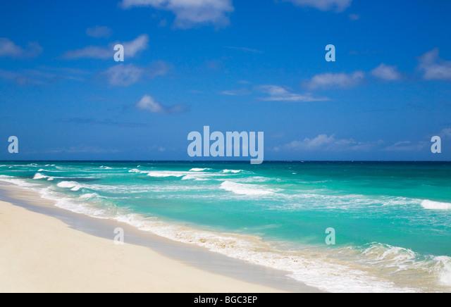 Carribbean Sea, Cuba - Stock Image