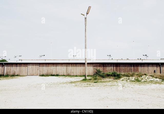 Lamp post, Denmark - Stock Image