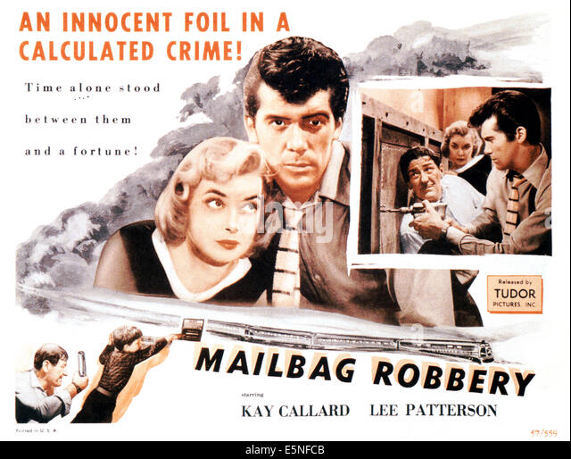 MAILBAG ROBBERY, (aka THE FLYING SCOT), Kay Callard, Lee Patterson, 1957 - Stock Image