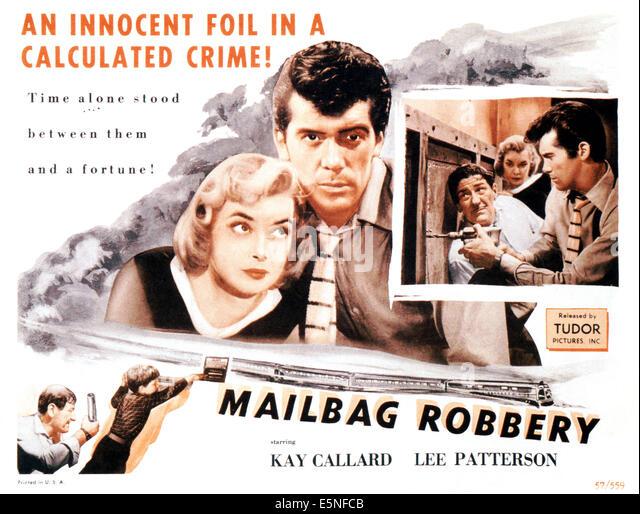 MAILBAG ROBBERY, (aka THE FLYING SCOT), Kay Callard, Lee Patterson, 1957 - Stock Image