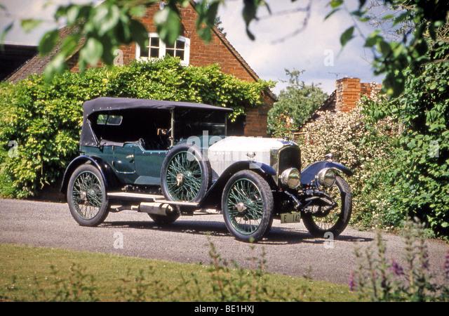 VAUXHALL 1920 30/98 car - Stock Image