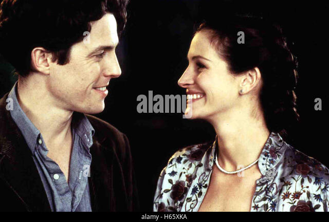 Notting Hill (1999), Director: Roger Michell, Actors/Stars: Hugh Grant, Julia Roberts, Richard McCabe - Stock Image