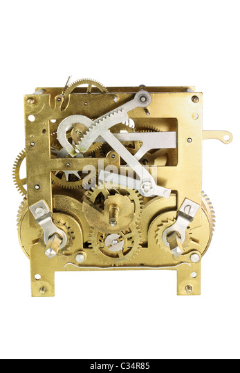 Clockwork Parts - Stock Image