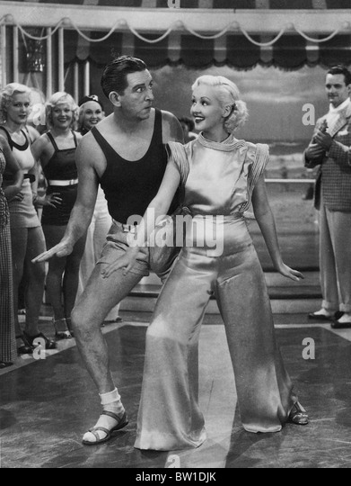 THE GAY DIVORCEE  1934 RKO film with Ginger Rogers - Stock-Bilder